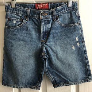 Arizona Boys Denim Shorts w/Adjustable Waistband